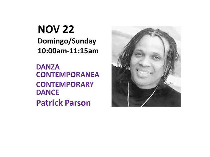 Nov 22 - Danza Contemporanea Contemporary Dance