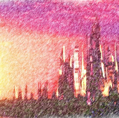 Alteran sunset