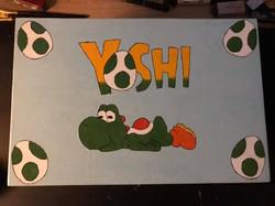 Yoshi inspired treasure box