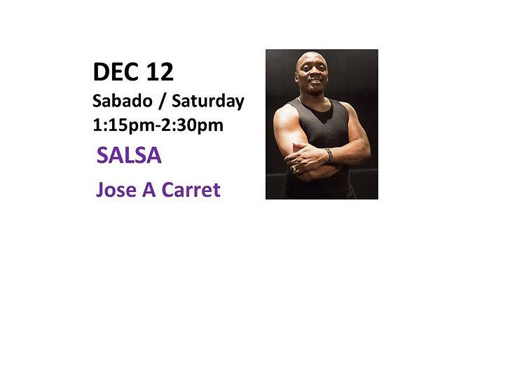 Dec 12 - Salsa with Jose A Carret