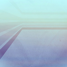 Horizontal flight (Blue edition.)