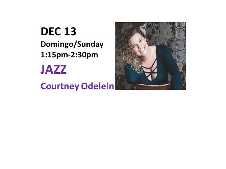 Dec 13 -Jazz with Courtney Odelein