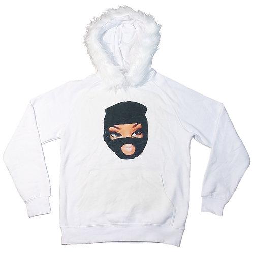 Bratz Fur Hoodie White (NeenzgocrazyLipGloss)