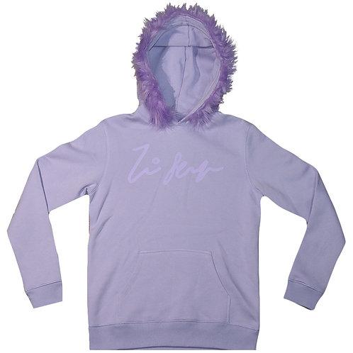 Lavender Fur Hoodie