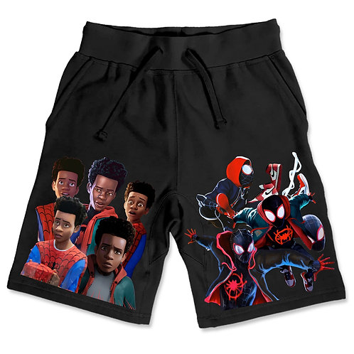 Spider-Man Shorts Black
