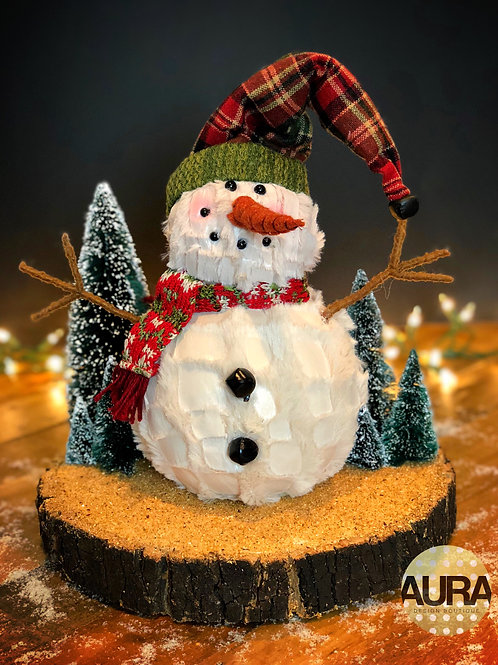 Snowman Holiday Centerpiece