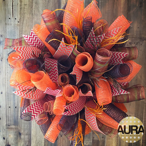 Custom Autumn Wreath