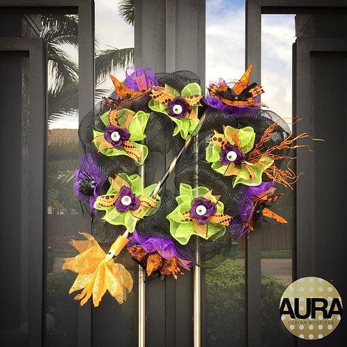 Custom Halloween Wreath