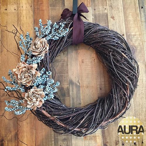 Rustic Modern Wreath