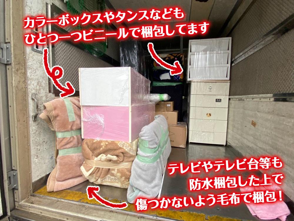 便利屋和歌山 引っ越し 梱包説明