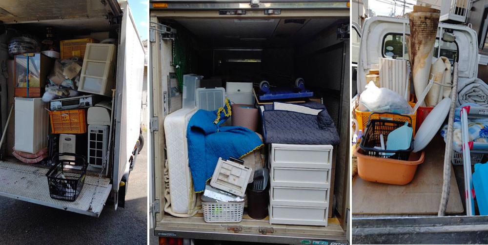 便利屋和歌山 一軒家丸ごと処分 トラックにつみこみ