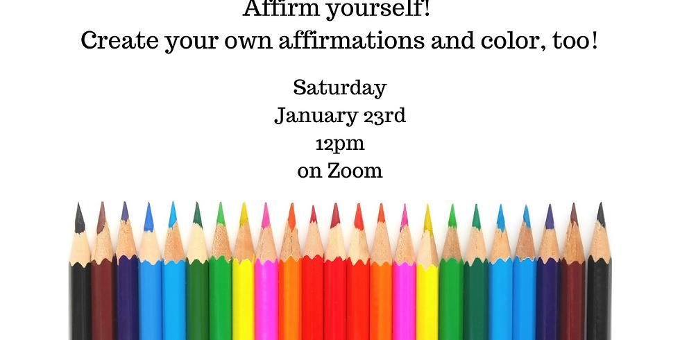 Color + Converse: An Affirmation Workshop