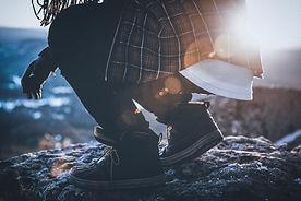Crouching Man