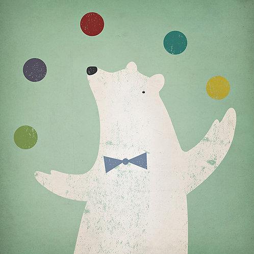 Circus Polar Bear