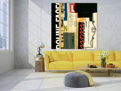 Emerge V   Big Wall Art on Canvas   DIY oversized art prints   GIANT ART