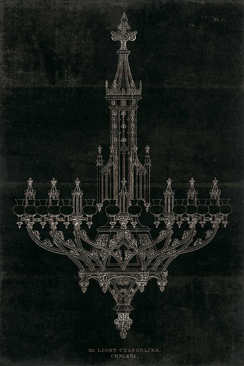 Ornamental Metal Work Chandelier