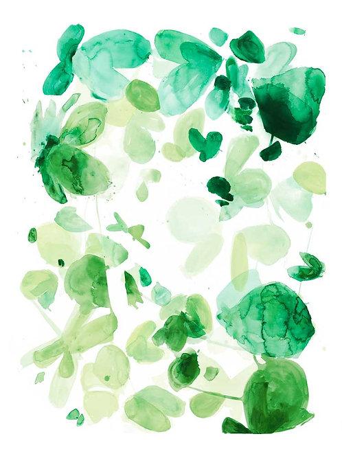 Butterfly Dance in Green C