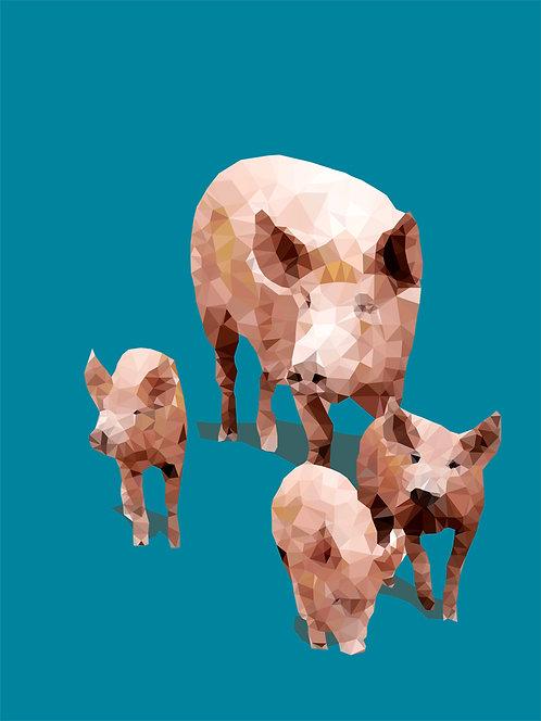Fractal Pigs