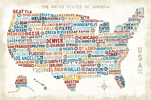 US City Map