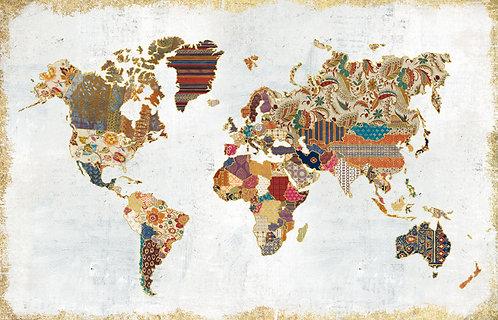 Pattern World Map