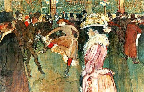 La Danse au Moulin Rouge