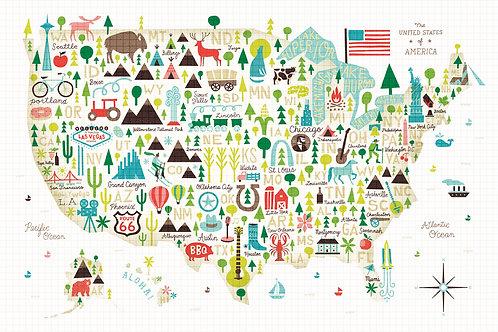 Illustrated USA