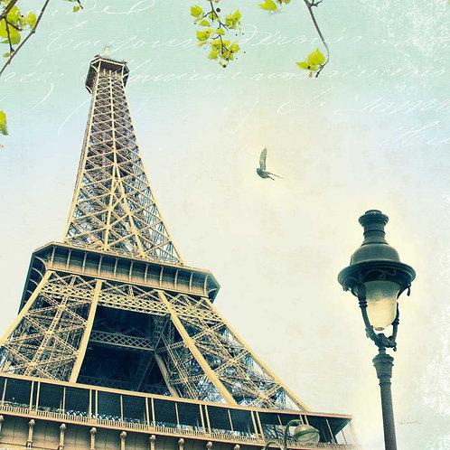 Paris Eiffel Letter