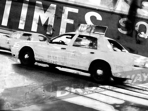 Times Square Taxi 2