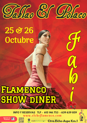Fabi en Tablao Flamenco El Polaco