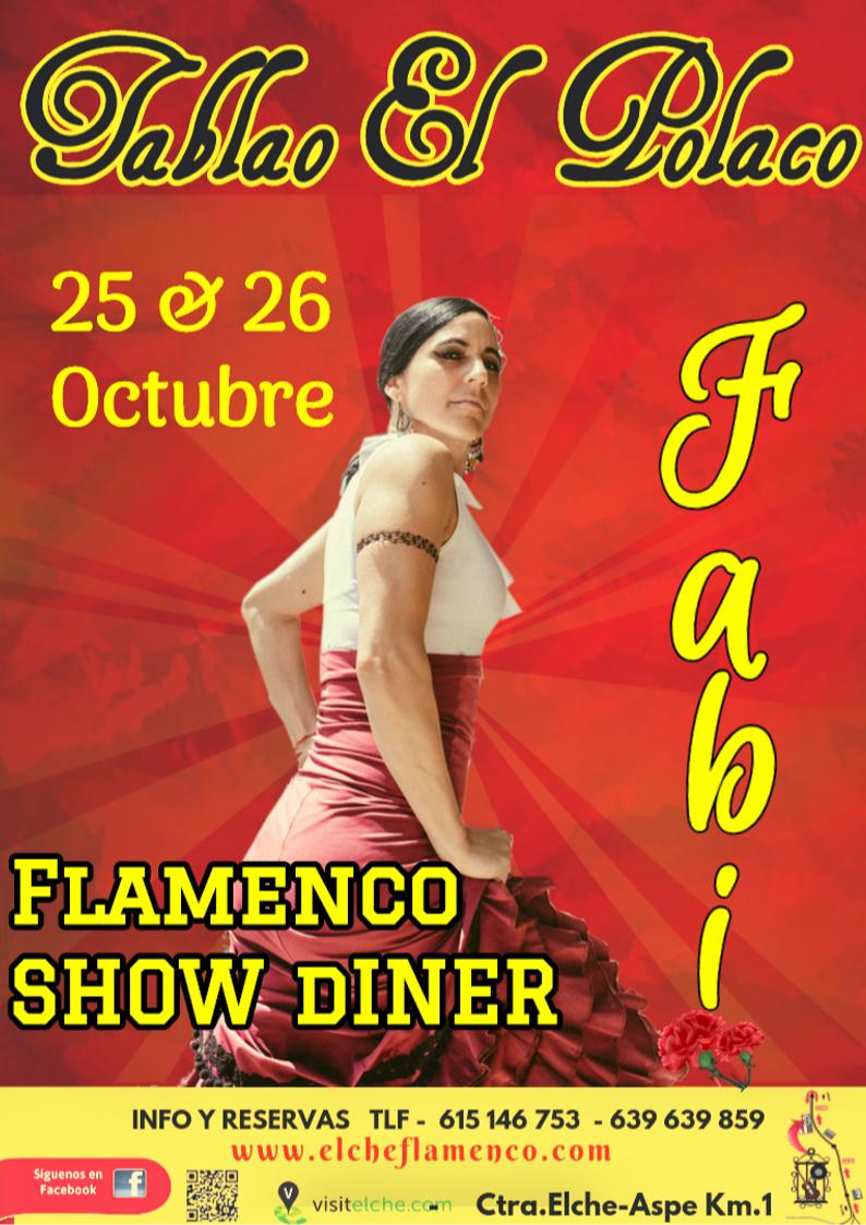 Fabiola Vanadia -Tablao El Polaco