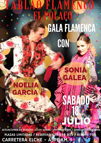 CARTEL 18-7-2020 NOELIA GARCIA Y SONIA G