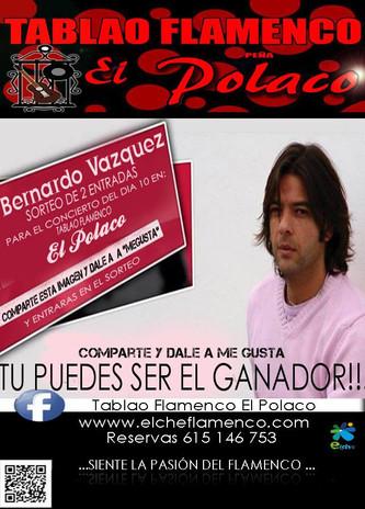 Bernardo Vazquez, Concurso Facebook