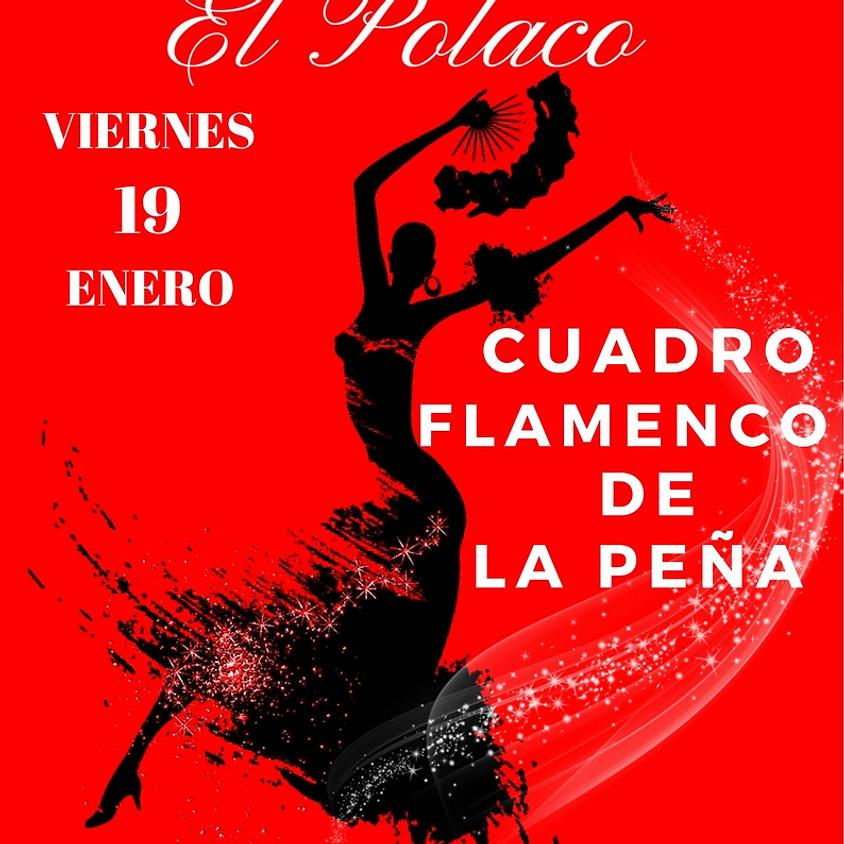 Cuadro Flamenco De La Peña