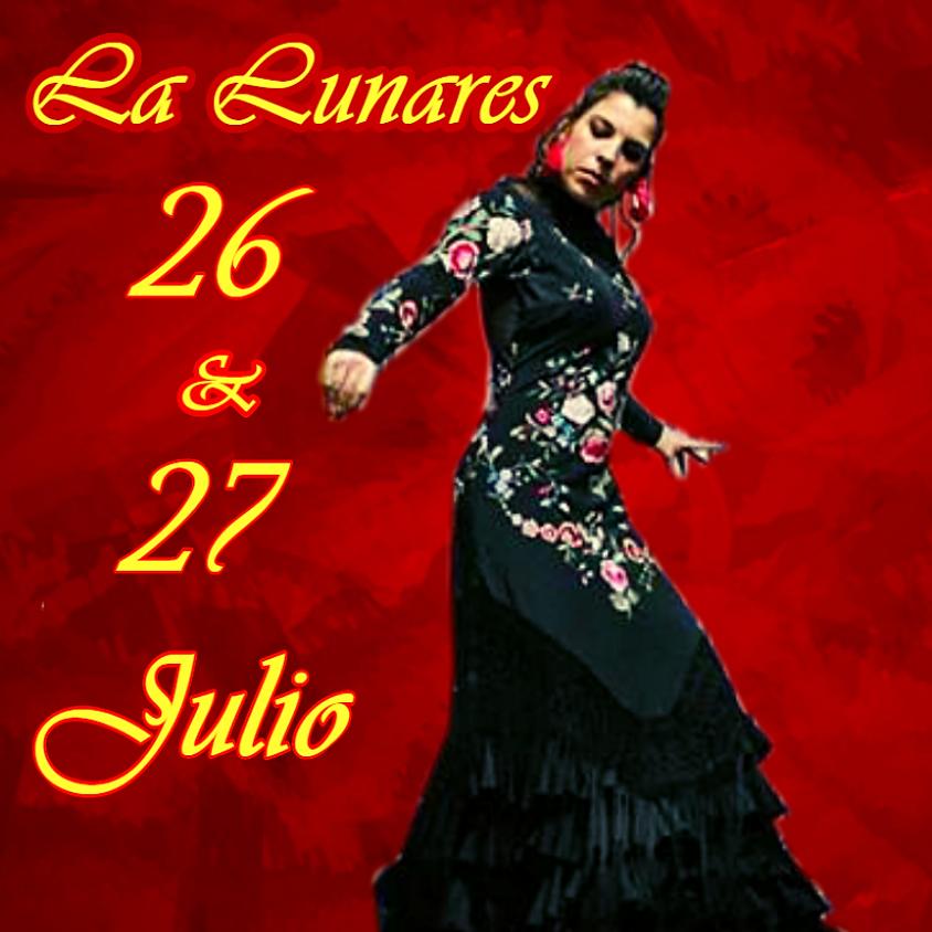 La lunares en  Tablao Flamenco El Polaco