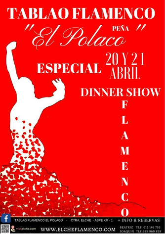 Special Flamenco Dinner Show