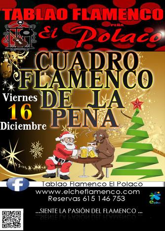 """Navidad  Elche.                                   Tablao Flamenco """"El Polaco"""""""