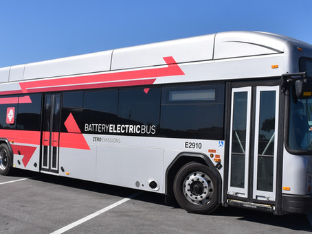 JTA Welcomes First Pair of Zero-Emission, All-Electric GILLIG Buses to Its Fleet