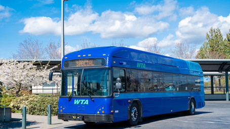 WTA's First Two Zero-Emissions Buses Have Arrived