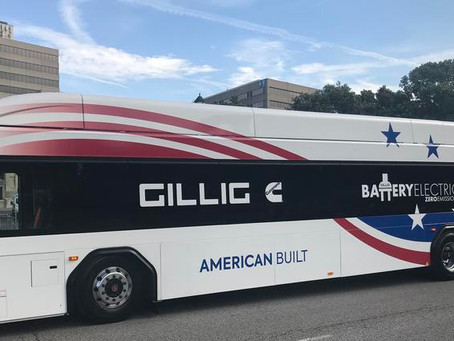 RideKC Shows Off New eBus, Coming in Summer 2020