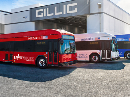 GILLIG's New Battery Electric Bus Previewed at Customer Showcase
