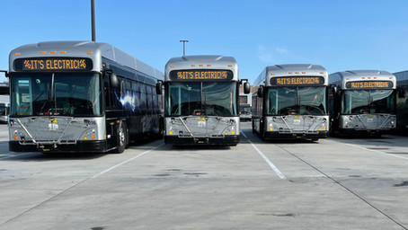 City of Tucson adds five new electric buses to fleet