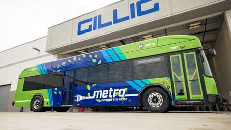 100th Battery Electric Bus Production Milestone Reached