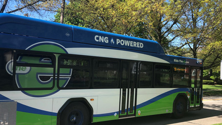 EMTA Purchases Nine New Compressed Natural Gas Buses