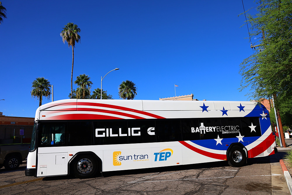 GILLIG Zero-Emission Battery Electric Bus