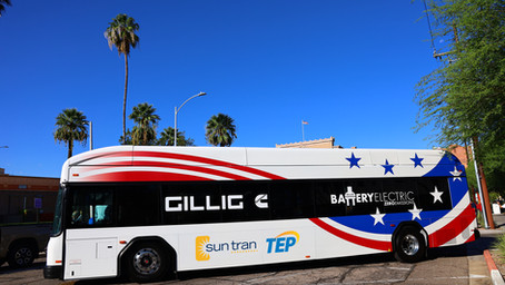 Sun Tran Rolls Out GILLIG Battery-Electric Bus