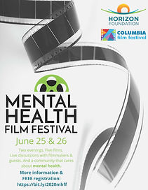 Mental Health Film Festival Flier 6.2020