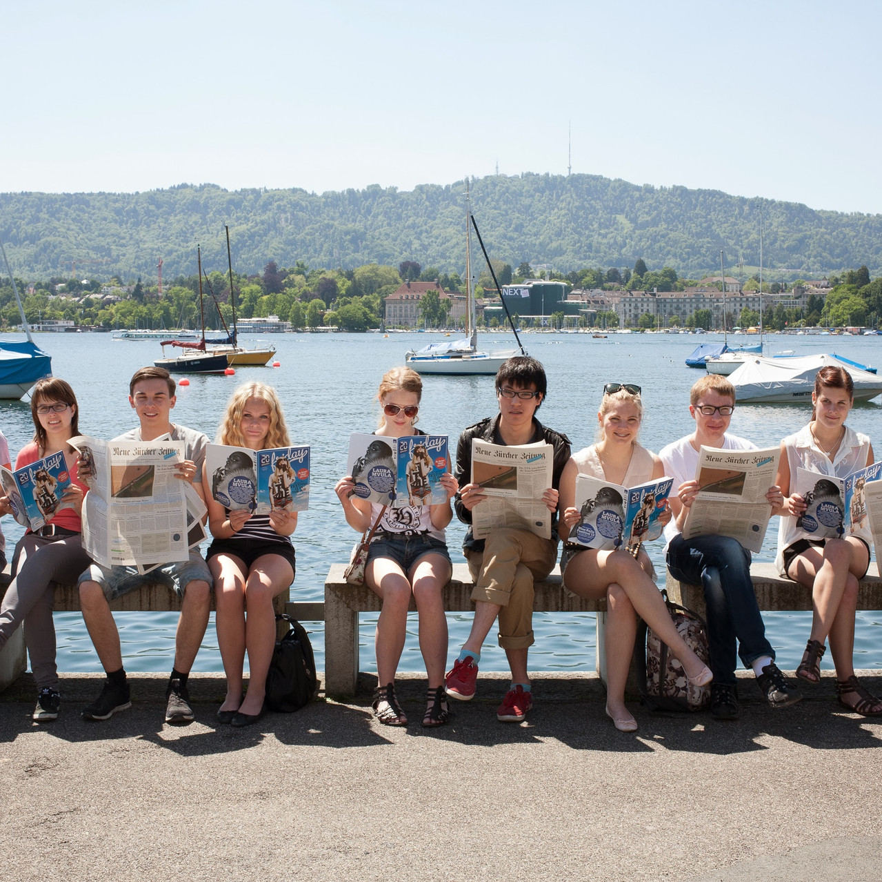 Zurich_students_By_Lake