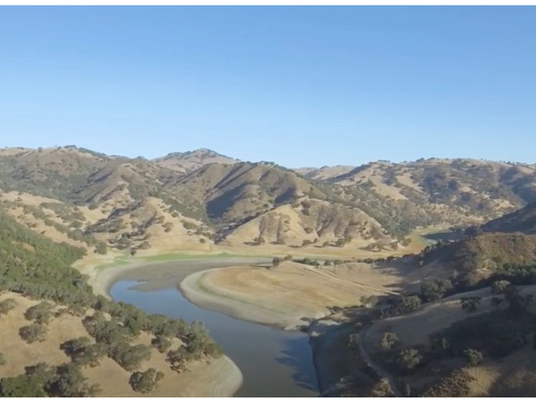 SCVWD Proposed 319' Dam on Pacheco Creek