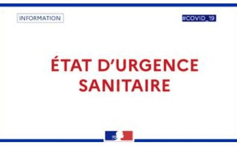 État d'urgence sanitaire