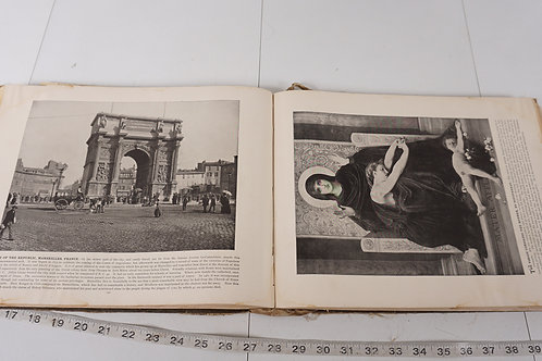 1892 Scenes From Every Land Book
